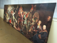 painting of 1800  210 x 62 inch.
